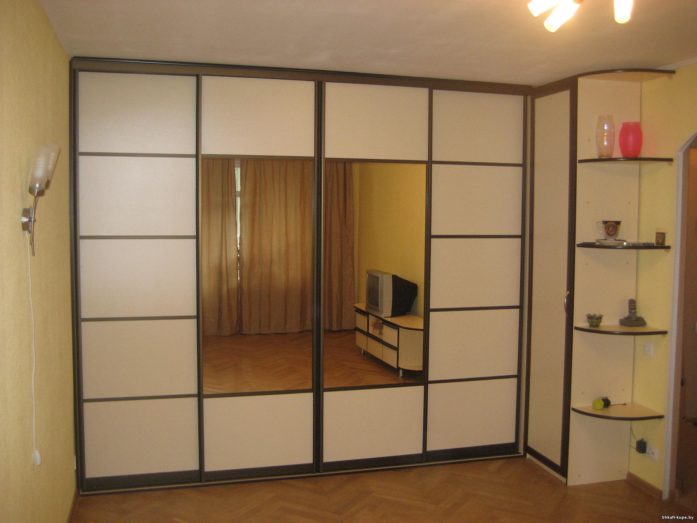 Шкафы-купе в гостиную: фото и цены в минске. +30 фото в порт.