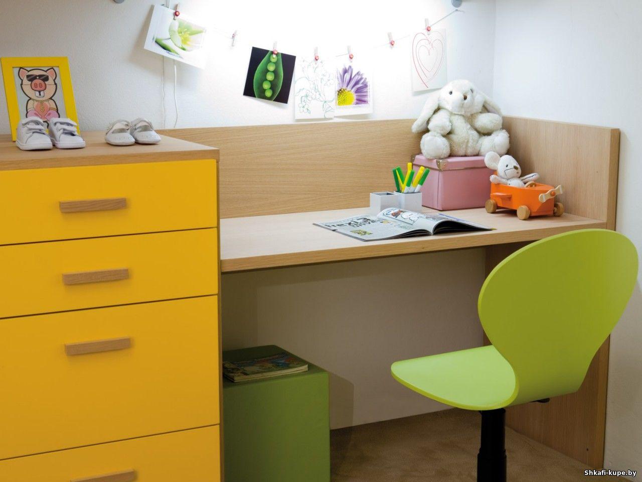 Детский письменный стол - 80 фото необычного дизайна.