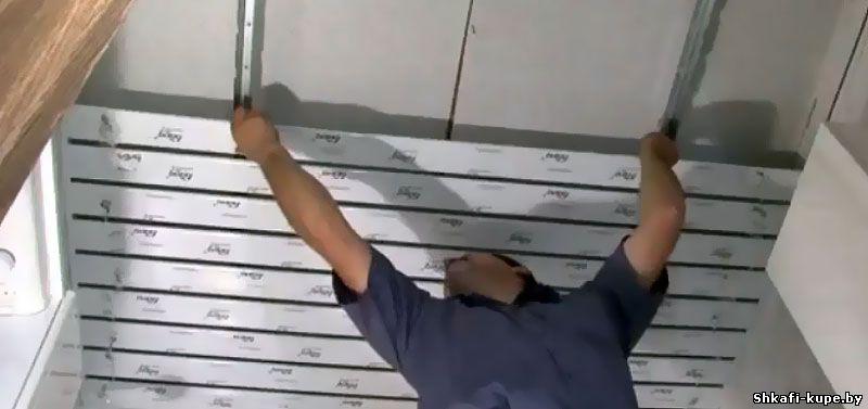 Алюминиевые потолки своими руками фото