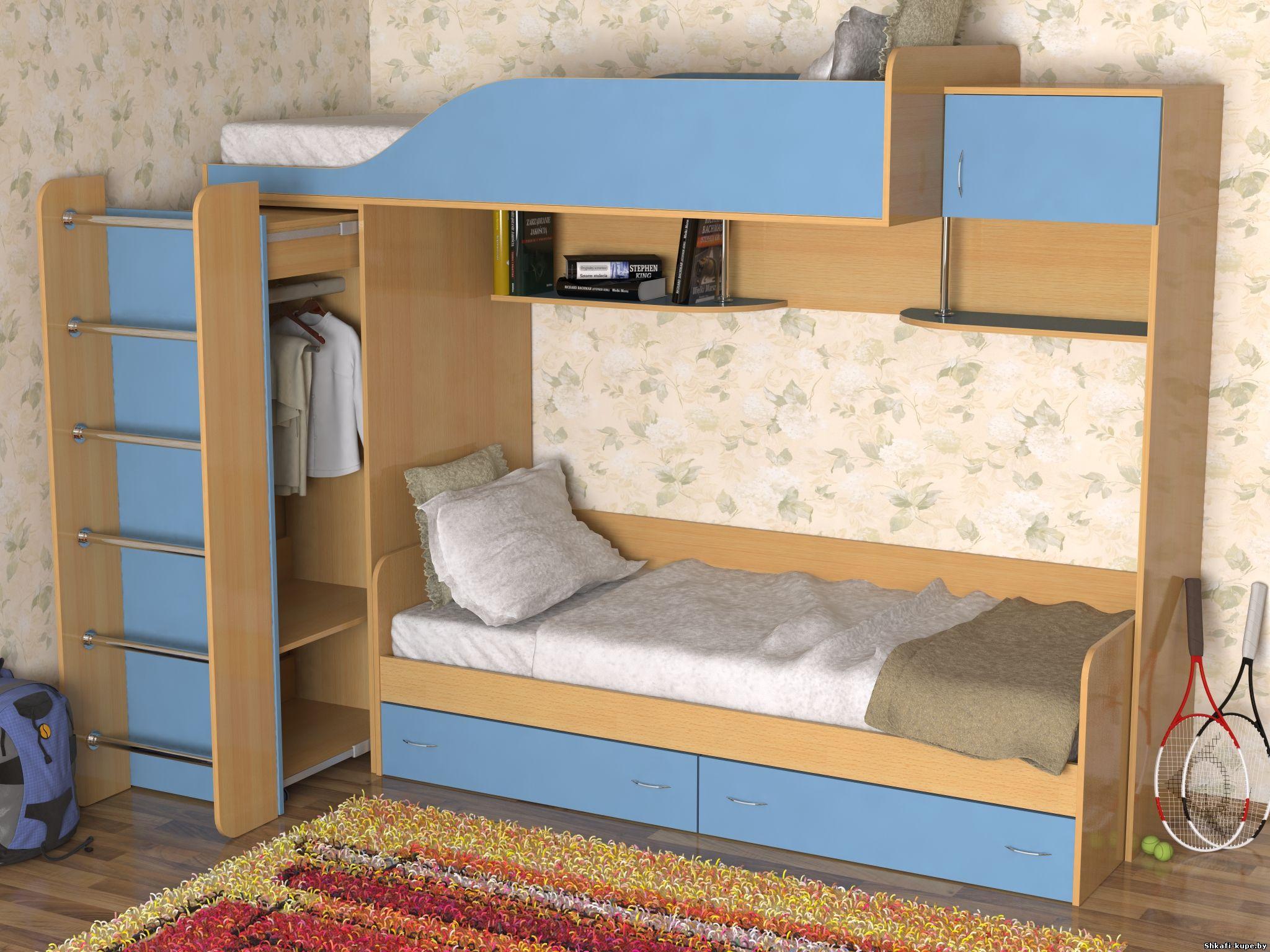 Кроватка Диван Детская В Санкт-Петербурге