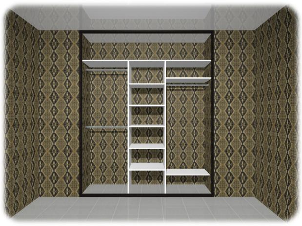 Встроенный шкаф-купе